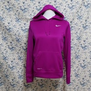 Nike Therma Fit hoodie sweatshirt fleece lined